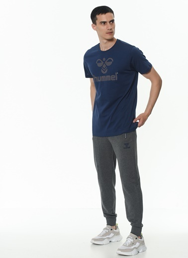 Hummel Erkek Tişört Juniper 911178-9968 Mavi